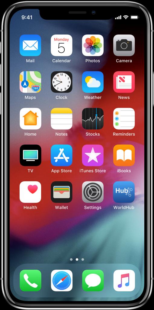 App on Home Screen